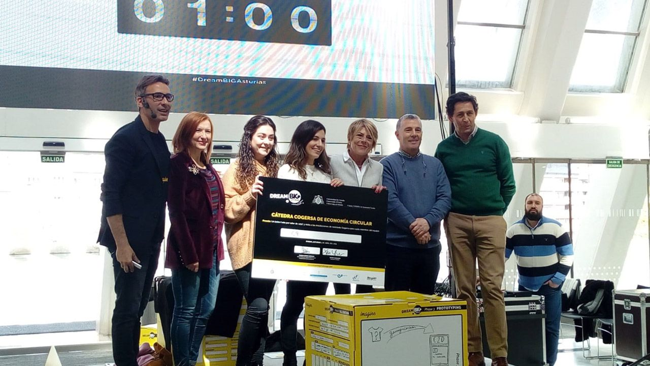 Ganadores del Dream Big Asturias 2019