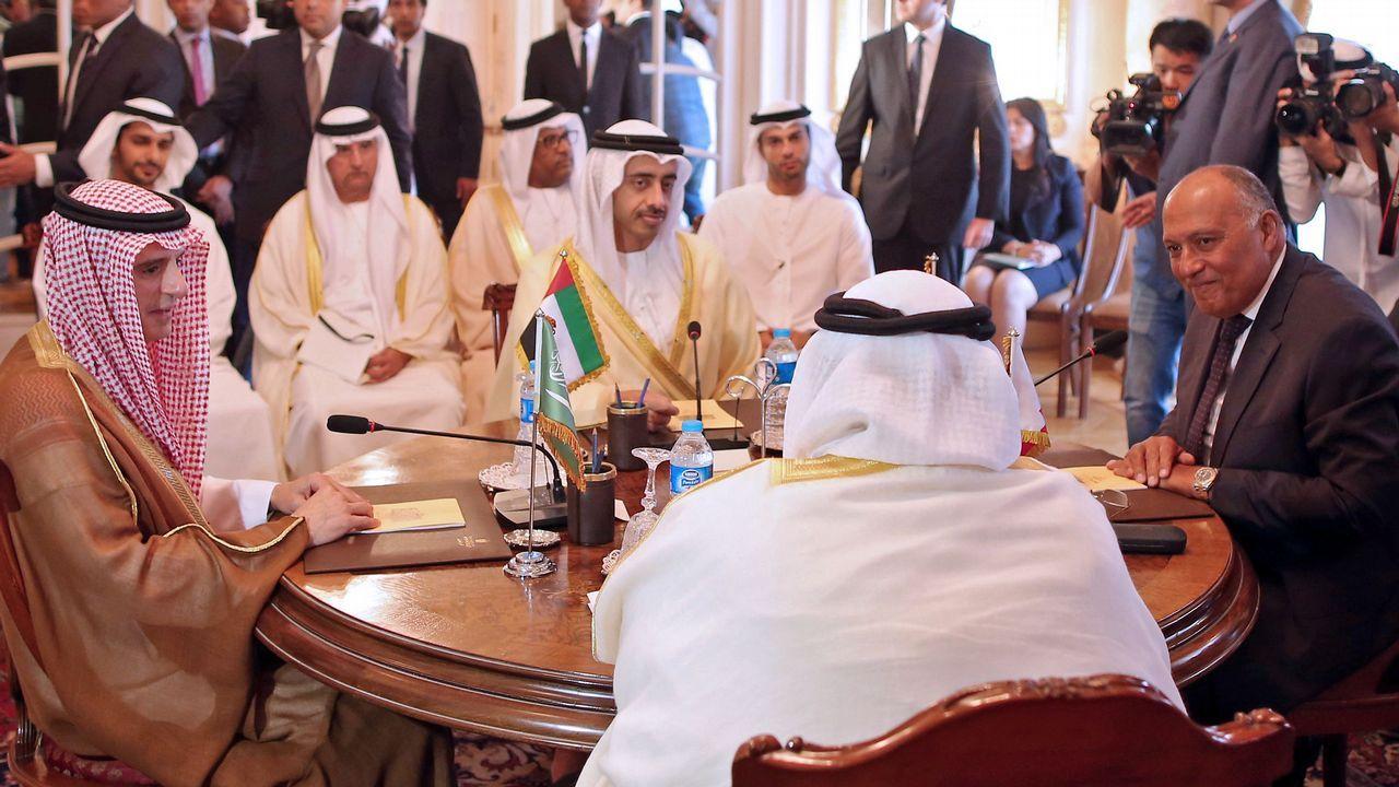 «Ahora valoro más las victorias».El ministro de Exteriores de Emiratos Árabes, Anwar Gargash