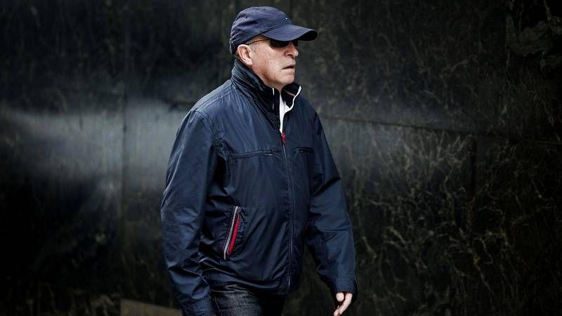 Baltasar Garzón durante su última visita a Galicia en febrero