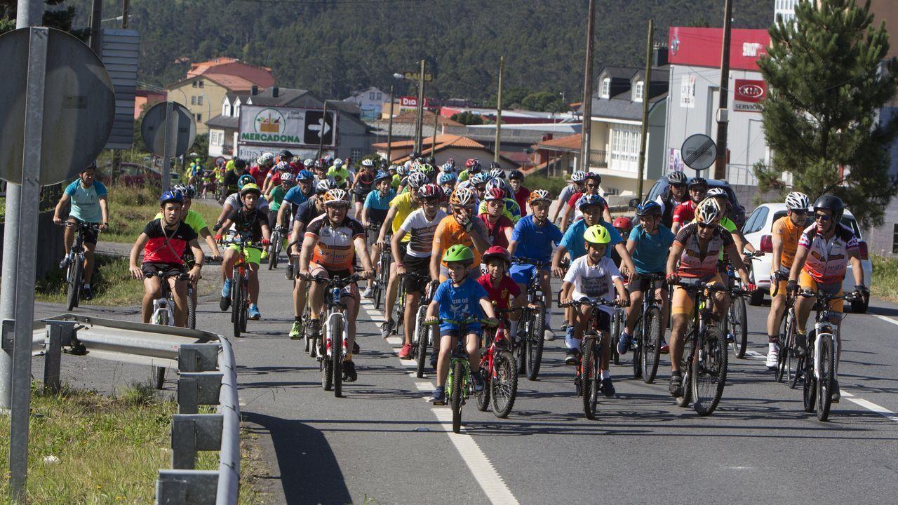 El Día da Bici de Cee en imágenes