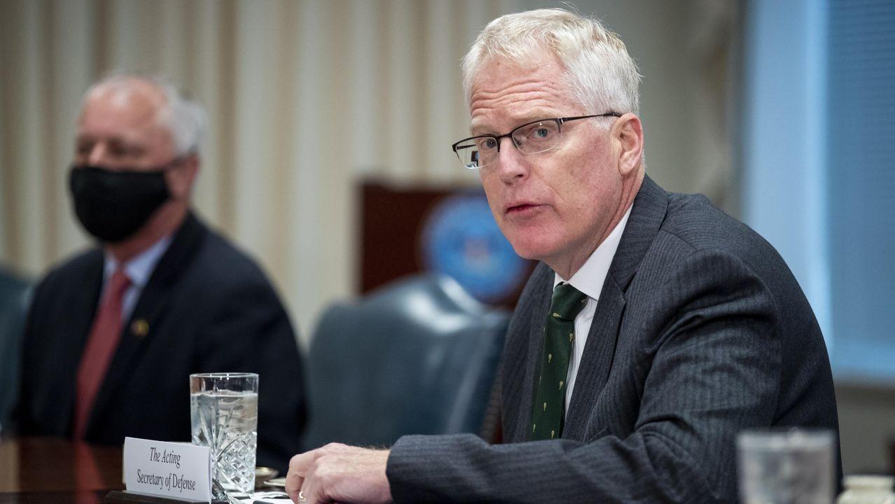 El secretario de Defensa estadounidense en funciones, Christopher C. Miller