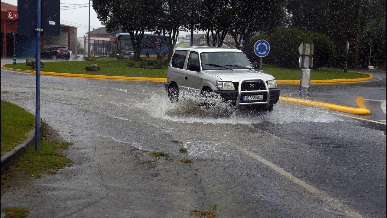 Barbanzaacumula más de 100 litros de lluvia por metro cuadrado