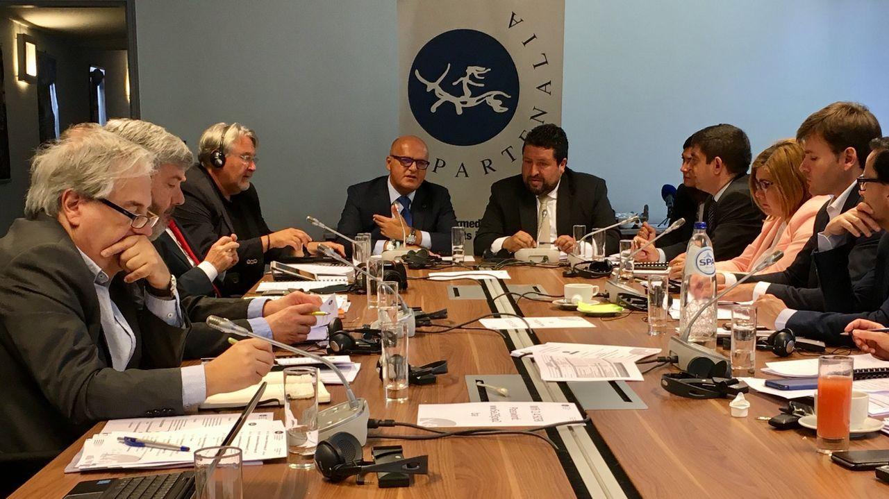 «Galicia tiene talento y capacidad para que los negocios se hagan desde aquí».Adriana Lastra dijo ayer que PP y Ciudadanos no son constitucionalistas y que apuestan por «lo contrario» que la Carta Magna