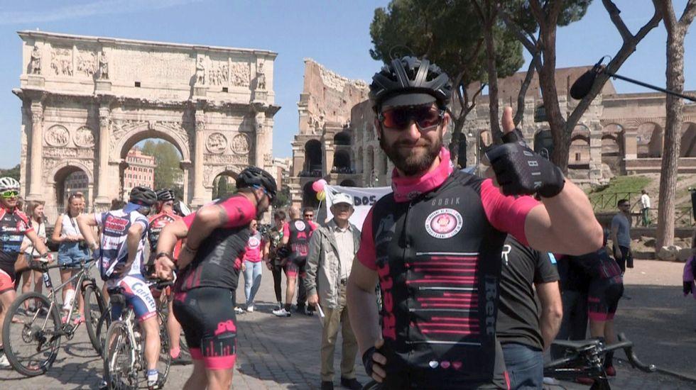 Campaña de Luis Pasamontes en defensa de los ciclistas