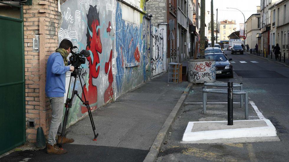 Un periodista grana el lugar donde fue hallado el coche