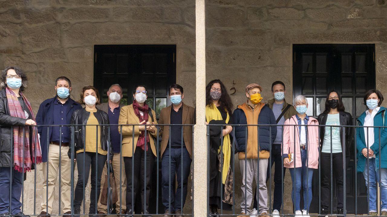Os xurados dos premios de Ciencias Sociais e Literatura Fantástica reuníronse na sede de Allariz