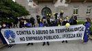 El colectivo ya se manifestó en enero ante la Delegación del Gobierno en Galicia