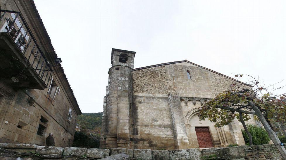 El recorrido pasará por la iglesia románica de San Vicente de Pombeiro