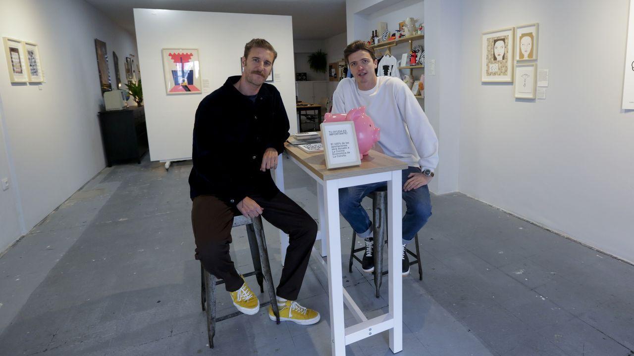 Flaco Studio, arte en el Orzán