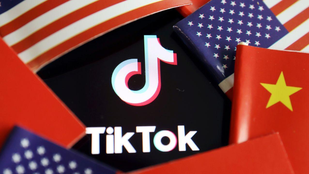 El presidente de EE.UU., Donald Trump, en una publicación de la aplicación TikTok, que quiere prohibir acusándola de espionaje