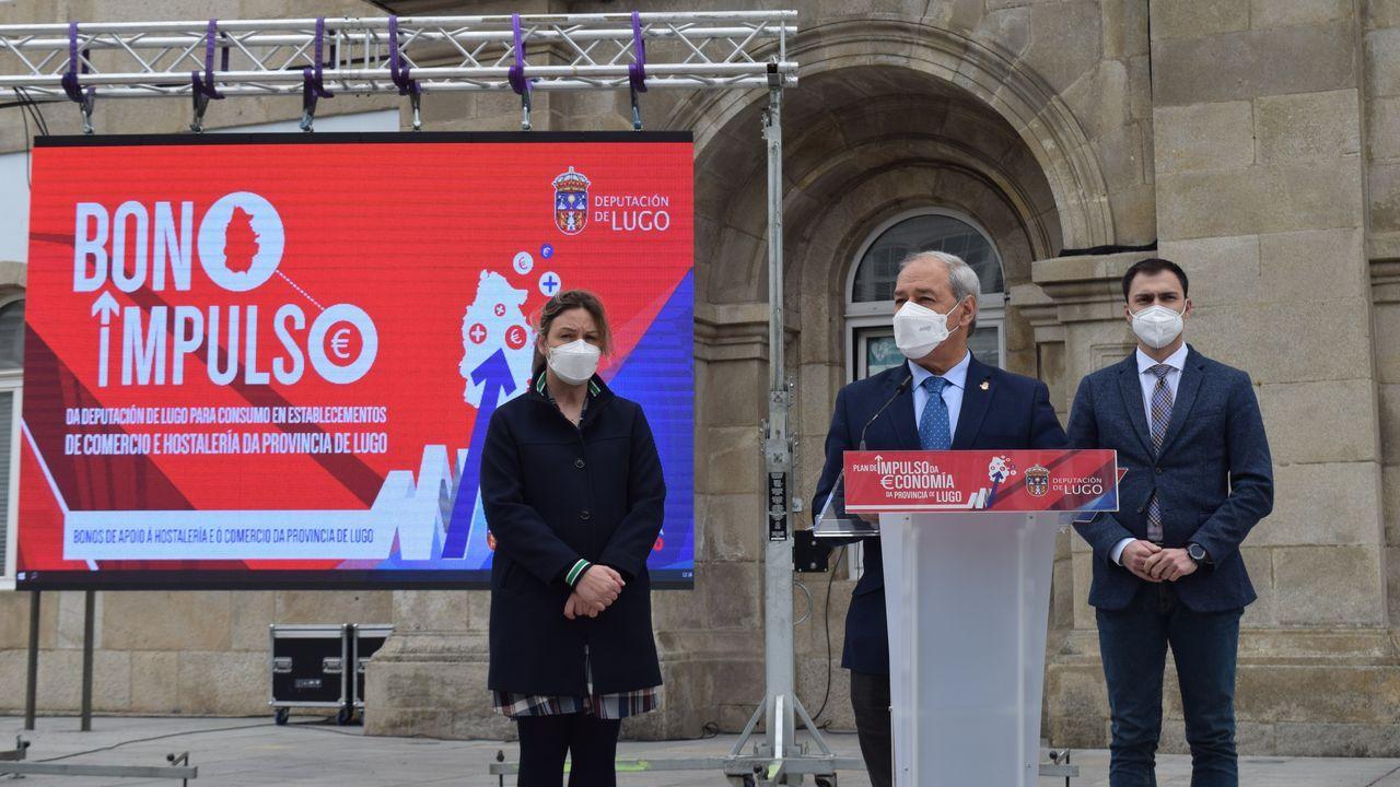 El presidente de la Diputación presenta el Bono Impulso