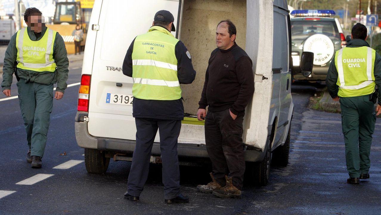 La Guardia Civil se hizo cargo del capitán del petrolero nada más llegar a tierra