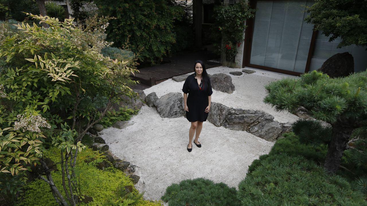 Así es el jardín japonés de Santiago.Vacunación masiva en Santiago