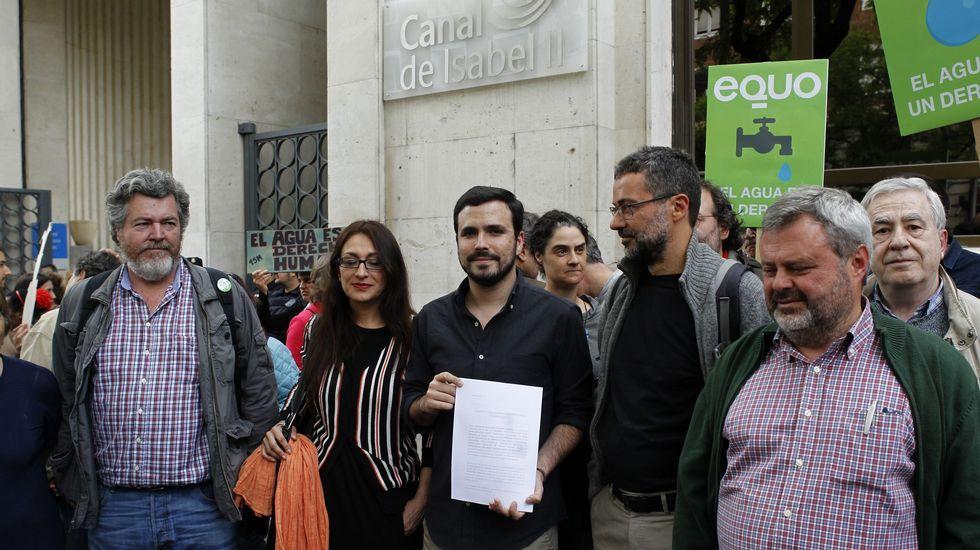 Unidos Podemos inicia conversaciones para presentar una moción de censura al Gobierno.Fernando Díaz Rañón
