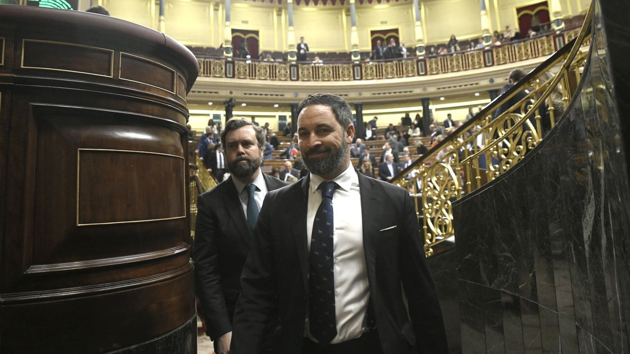 El presidente de VOX, Santiago Abascal, en una imagen de archivo