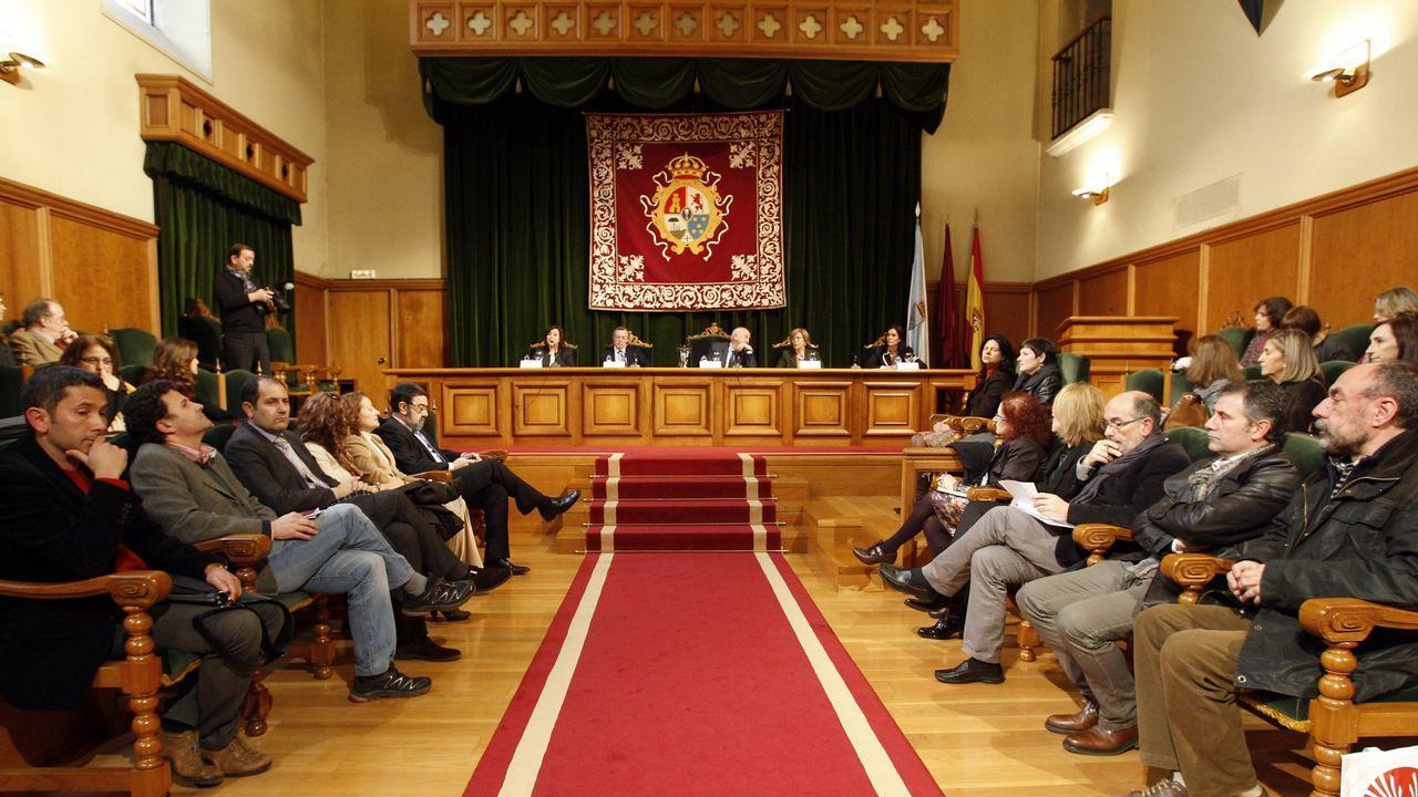 Acto conmemorativo del día de las mujeres en el Palacio de Fonseca de la USC