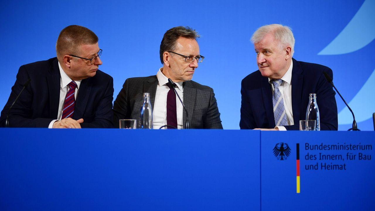 El ministro de Interior alemán, Horst Seehofer, presentó un plan para hacer frente a la criminalidad proveniente de la ultraderecha