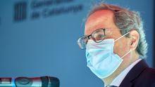 El expresidente de la Generalitat, Quim Torra