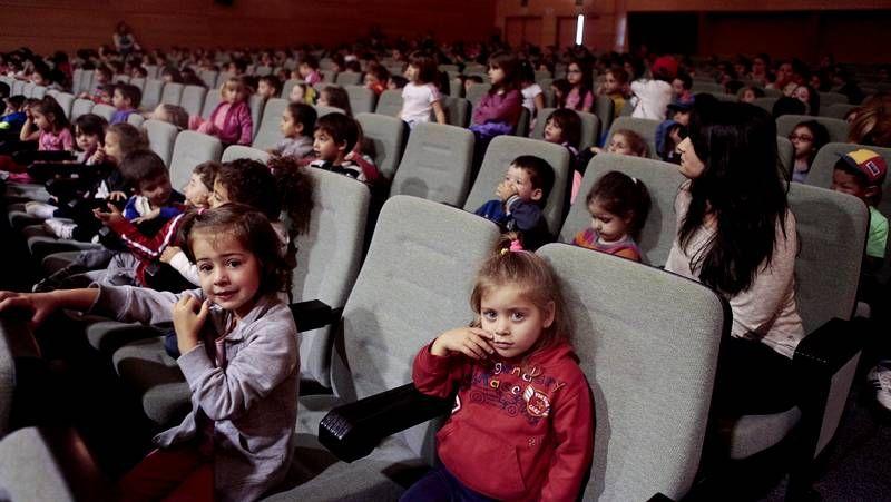 Una de las actividades celebradas por los chavales dentro del concurso Euroescola.