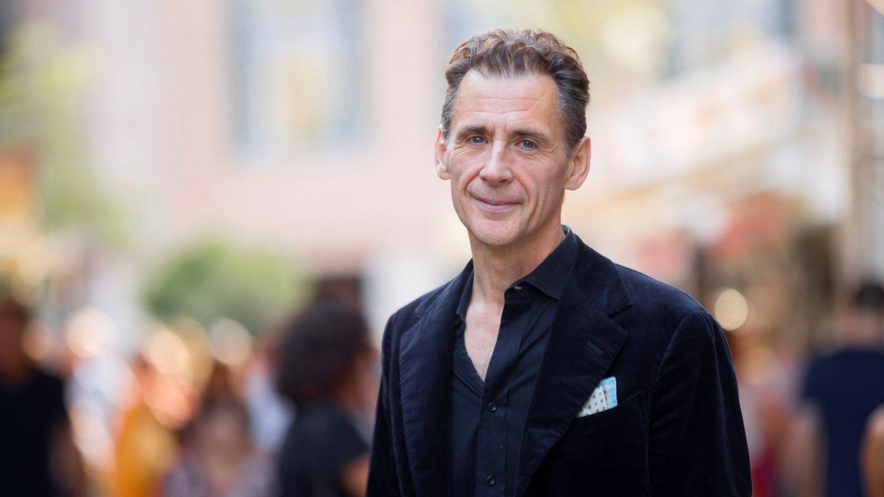 El escritor sueco David Lagercrantz, retatado en Barcelona, en donde asistió recientemente a la semana del libro en catalán y presentó la última entrega de la serie «Millennium», «La chica que vivió dos veces»