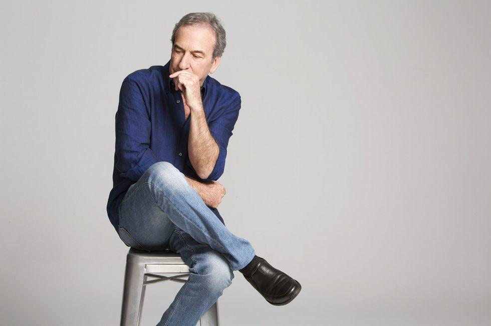 El historiador David Ruiz.Belarmino Fernández