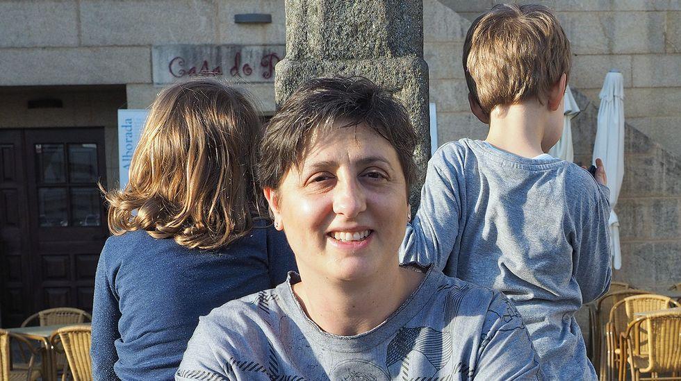 Concentraciones del 8M .La directora del Instituto Asturiano de la Mujer, Almudena Cueto