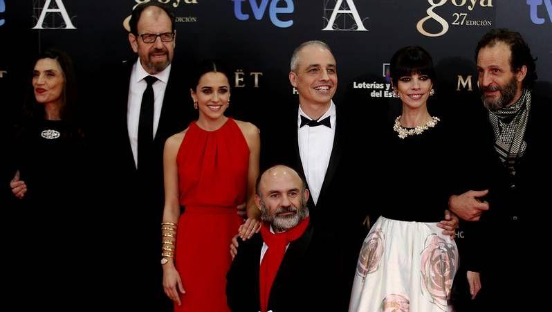 Premios Goya 2013: Los premiados, en fotos.Darío Grandinetti y Antonella Costa en «Inevitable».