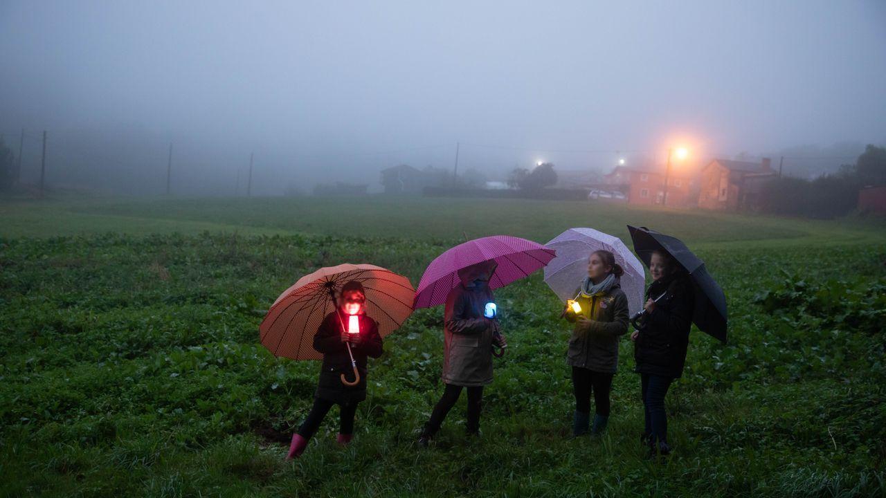 Vermeled, una romería de luz en Beche