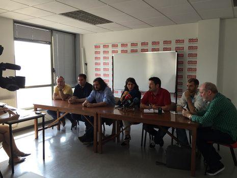 Comparecencia de miembros de AGE con el comité de Alcoa