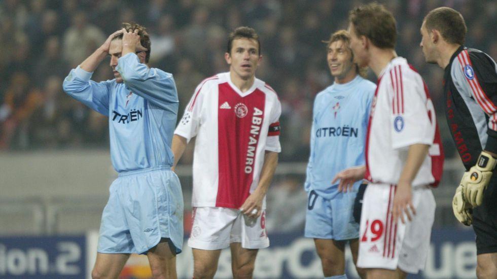 El Arsenal fue el equipo que eliminó a los celestes en de la Liga de Campeones en el 2004