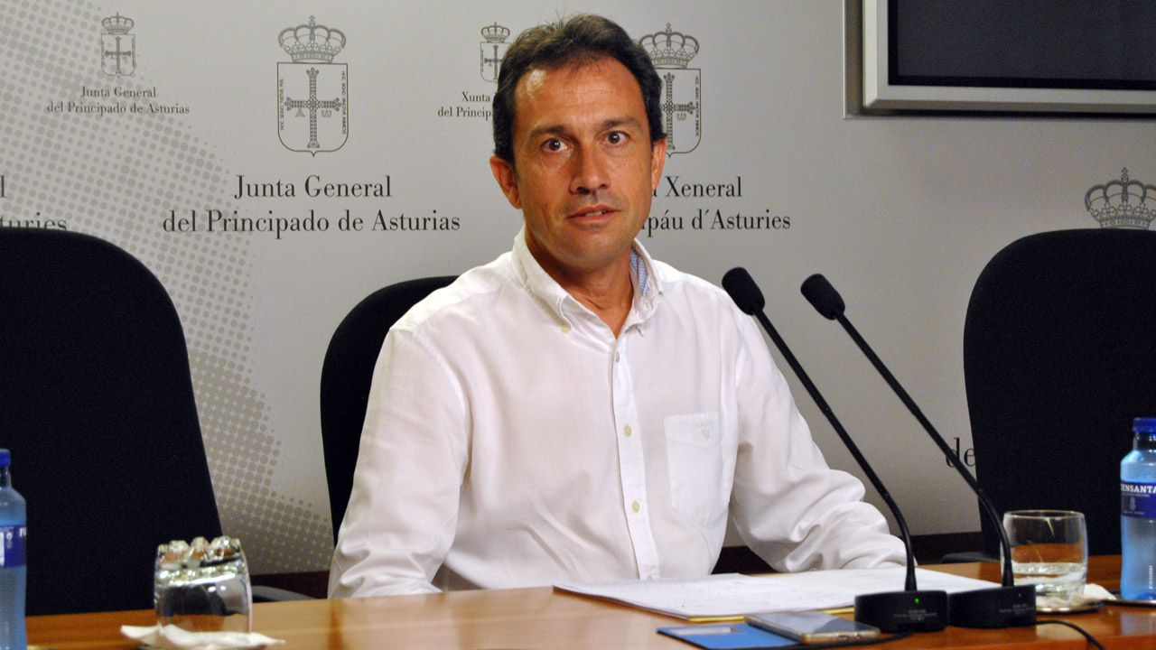 El diputado de IU Ovidio Zapico
