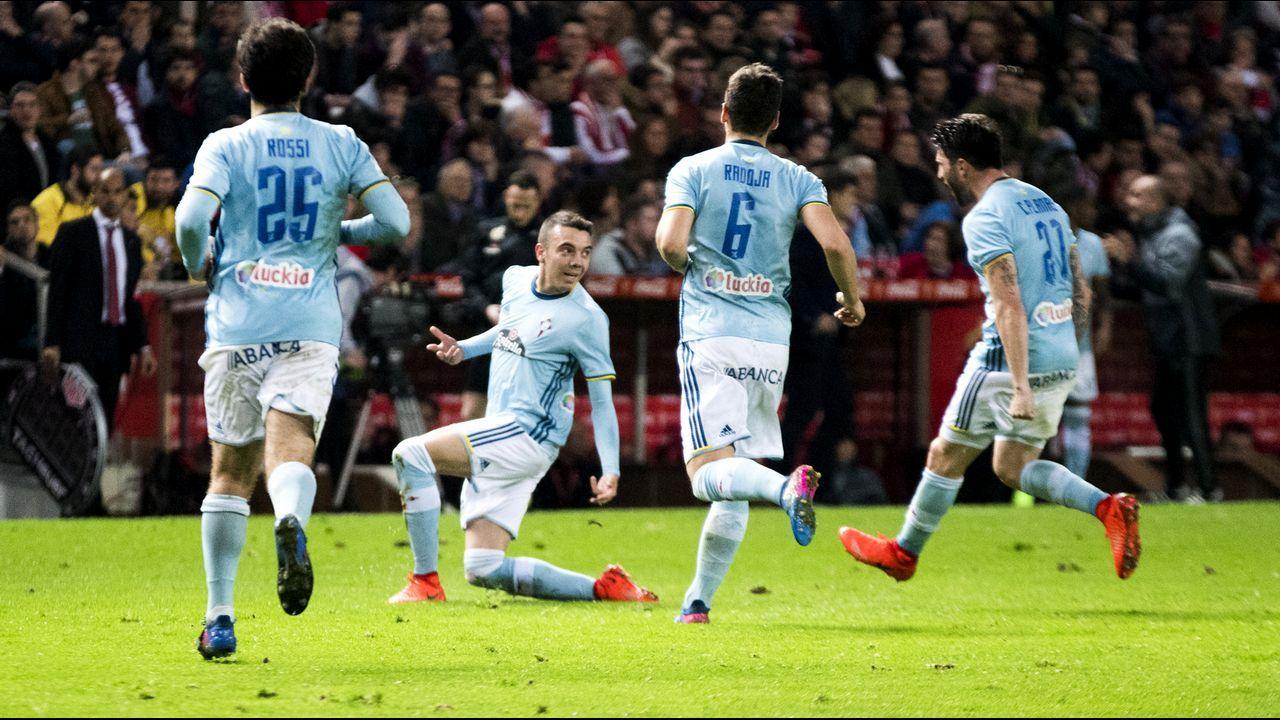225 - Sporting-Celta (1-1) de Primera el 26 de febrero del 2017