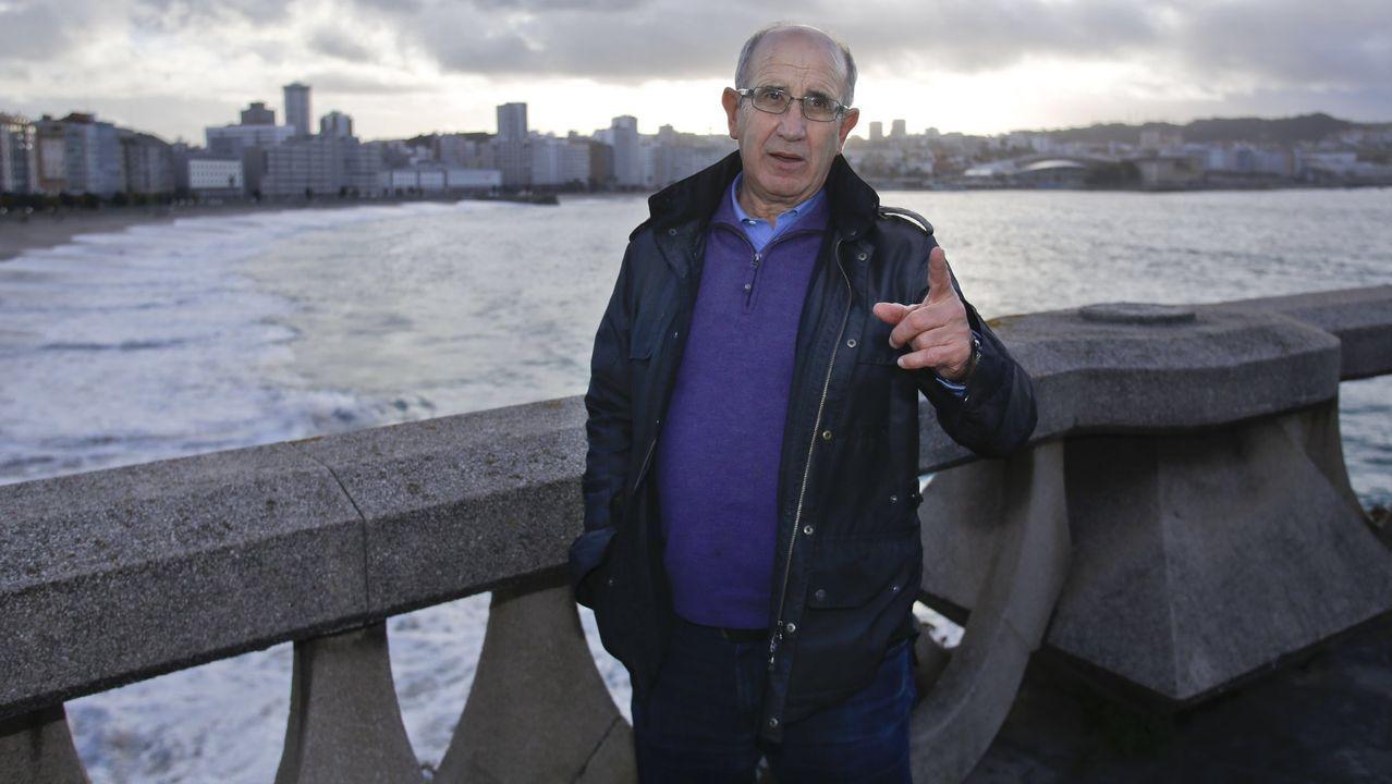 Javier Irureta, en una visita reciente a A Coruña