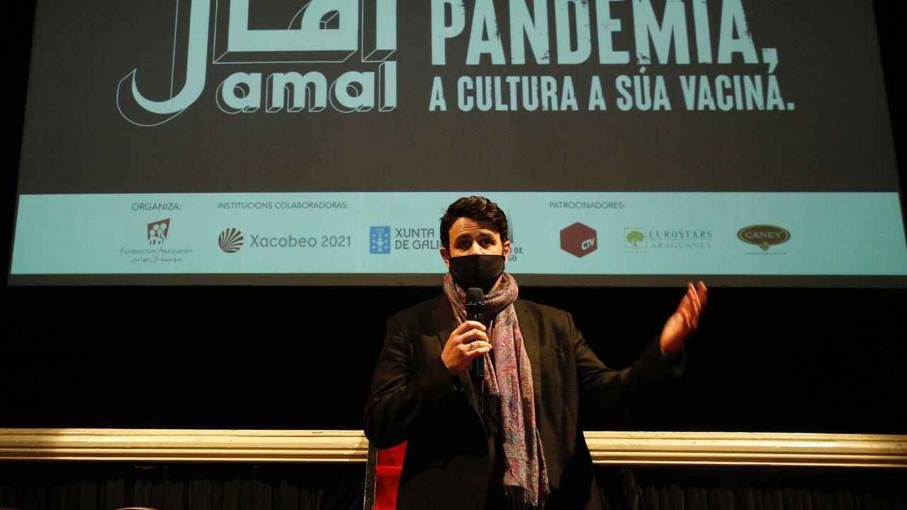 El director italiano Ubaldo Pasolini