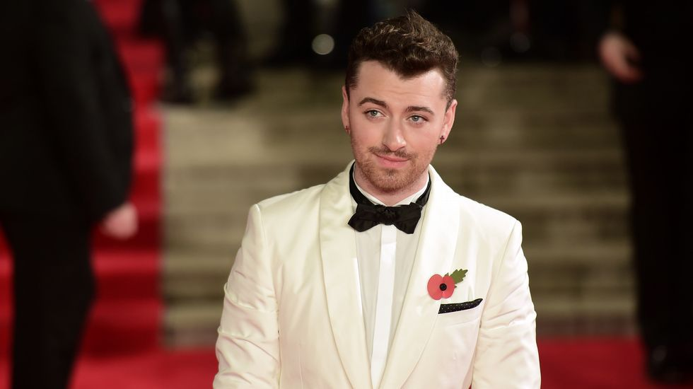 El cantante Sam Smith