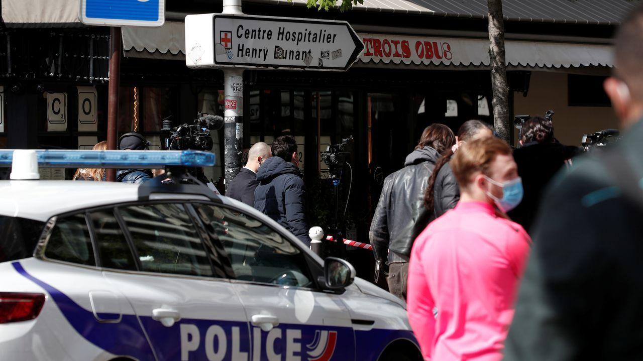 El tiroteo se produjo a las puertas del Hospital Henry Durant en París