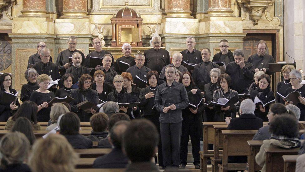 El conjunto vocal Lugh ofrecerá un concierto en el Círculo das Artes