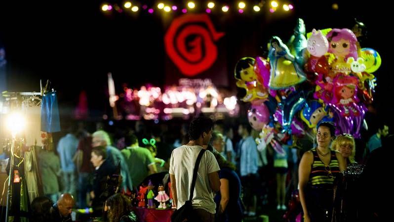 Música y buen ambiente en el Festival de Ortigueira.La banda de la Escola de Gaitas de Ortigueira actuó el viernes y hoy cerrará el festival.