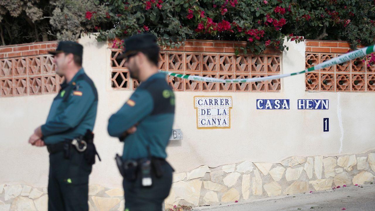 Detenido un hombre en Castellón por la muerte del padre de su expareja.Foto de la playa de Benicasim