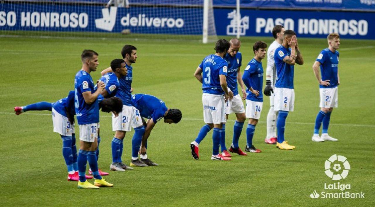 Alineación del Real Oviedo ante el Fuenlabrada