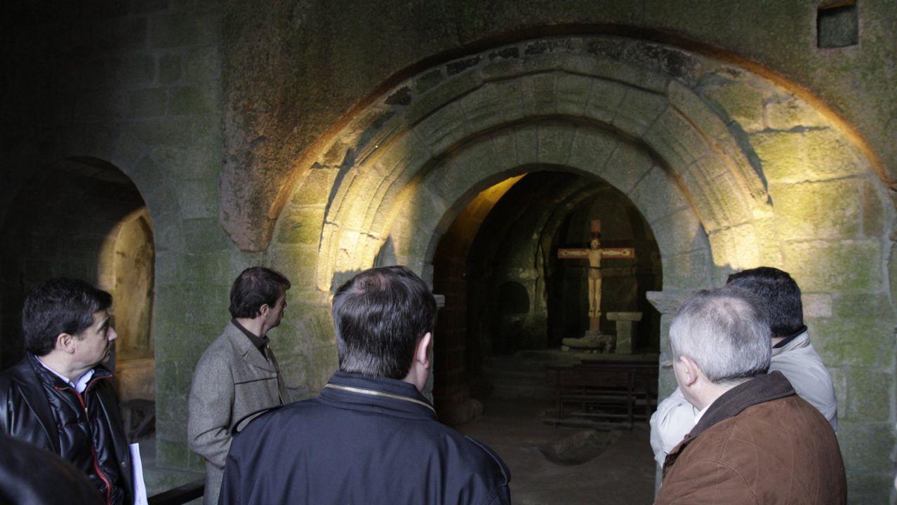 Uno de los juegos de escapa comprende una visita al monasterio de San Pedro de Rocas