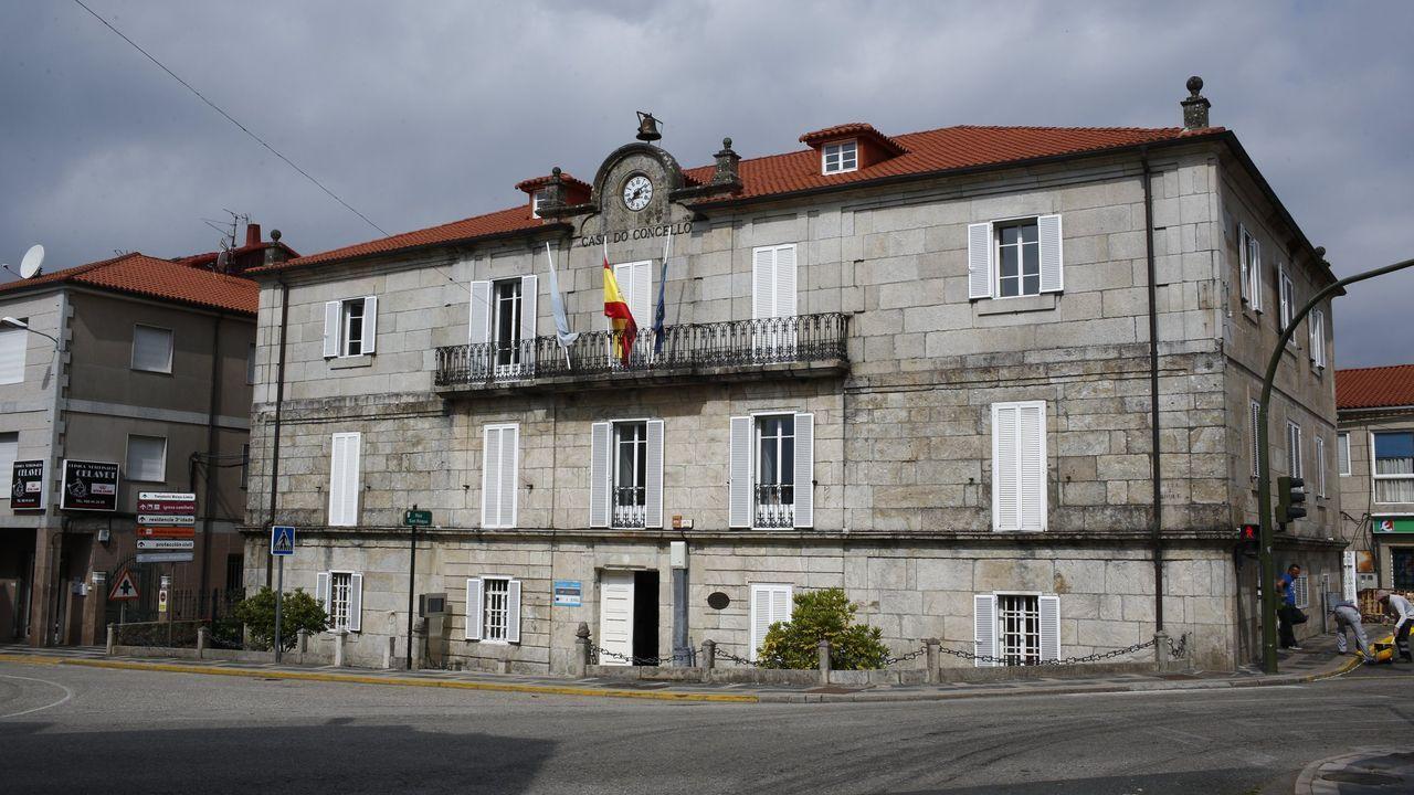 Toma de posesión de la alcaldesa de Bande Sandra Quintás.Casa Consistorial de Bande
