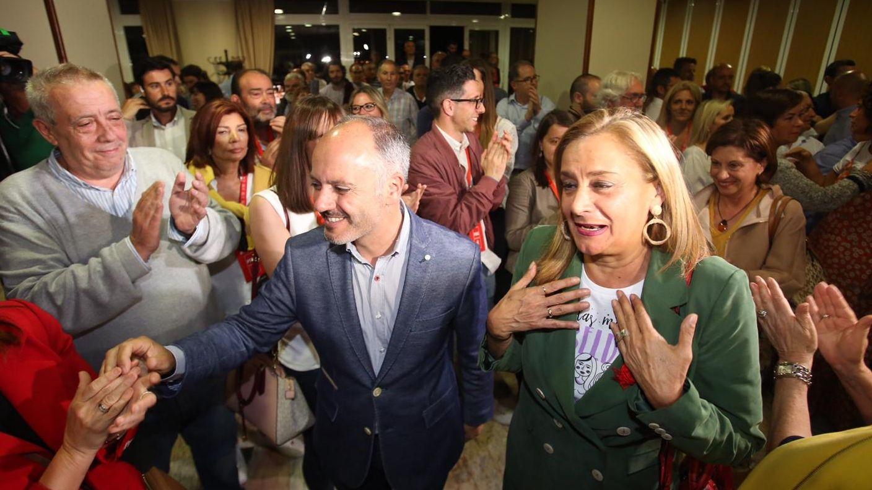 Celebración de los socialistas de Vigo