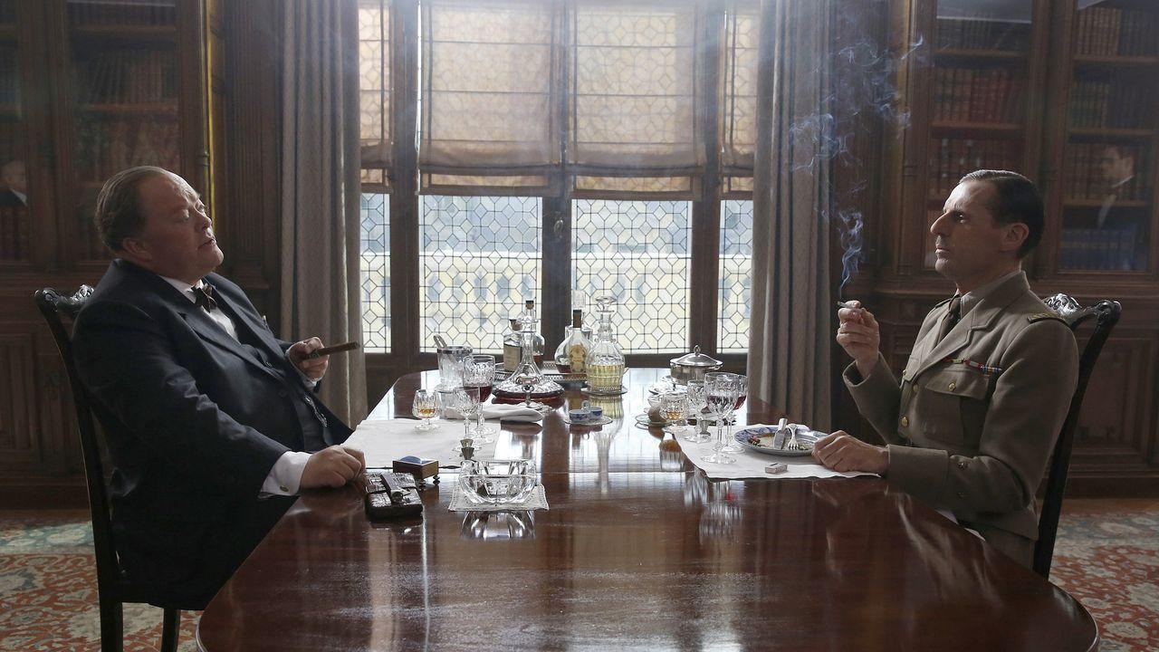 Fotograma del filme del director -también coguionista- Gabriel le Bomin «De Gaulle»