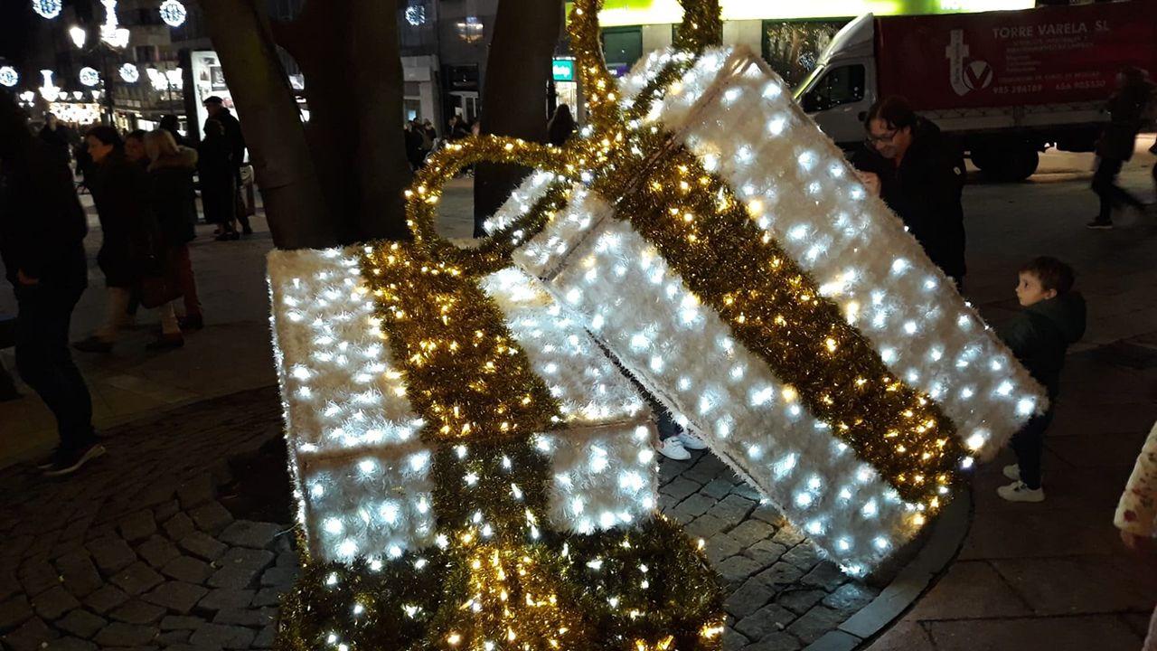 Decorados de Navidad en Oviedo