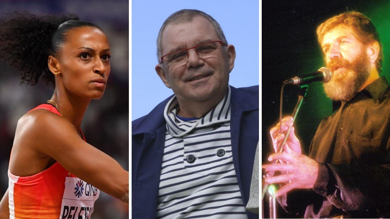Barbanza, cantera de estrellas.Ana Peleteiro, Xosé Manuel Piñeiro y Fito Domínguez, ya fallecido fundador de A Roda