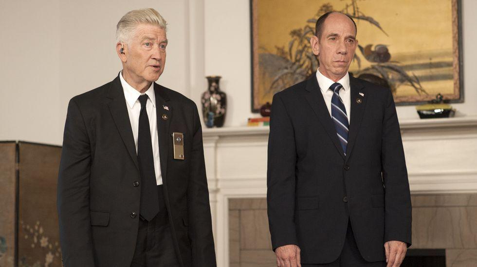 Christopher Wray, nuevo director del FBI.David Lynch y Miguel Ferrer