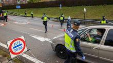 Control a la entrada de Oviedo