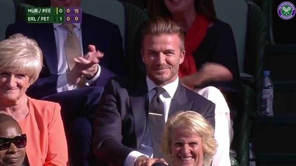 El minuto de oro de Beckham