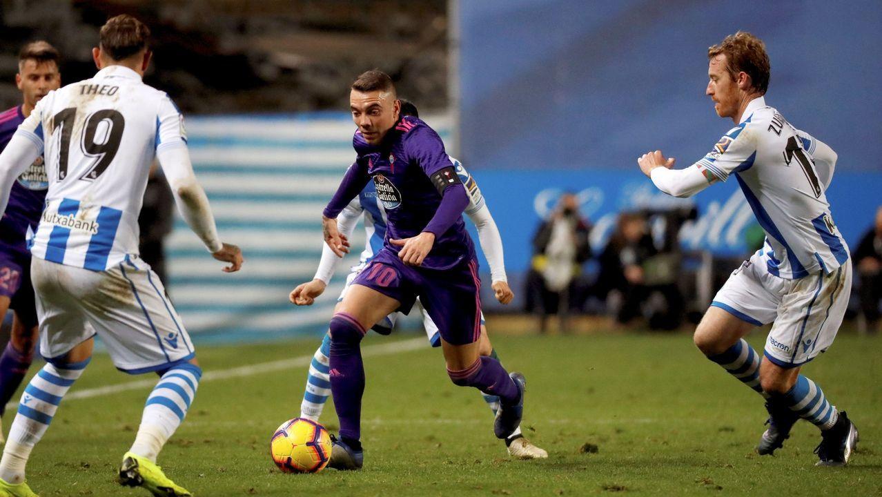 293 - Real Sociedad-Huesca (2-1) de Primera el 26 de noviembre del 2018